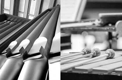Schlagzeug trifft Orgel